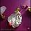 Thumbnail: Bajo el Cielo del Sur. Earrings & Ring. Labradorite, Olive Quartz, Coral, Quartz