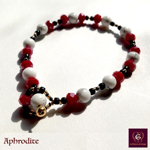 Aphrodite - Bracelet . Howlite