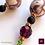 Thumbnail: Ornement - Earrings. Sapphire & Handmade Beads