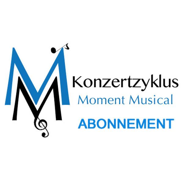 ABONNEMENT. Unterstützen Sie den Kozertzyklus Moment Musical mit dem Kauf eines Abonnements für fünf Konzerte.