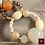 Thumbnail: Métamorphose. SET Necklace & Earrings - Agate, Calcite & Carneol