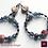 Thumbnail: La Nuit de Ginger - Earrings. Agate & Handmade Elements