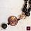 Thumbnail: Or Noir. Necklace. Handmade beads by La Maison de Ginger