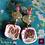 Thumbnail: Belle de Jour -  Earrings. Citrine & Handmade imprinted beads with 24 Gold leave
