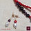 Thumbnail: Coup de Folie. Set triple-necklace & earrings. Pearls, Coral, Granat, Amethyste