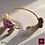 Thumbnail: Brut -  Unique Bracelet. Amathyste, Labradorite, Olive Quartz, Pearl