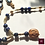 Thumbnail: ENIGMA - SET Earrings and Necklace. Lapis Lazuli
