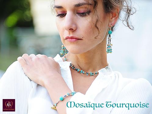 Mosaïque Turquoise - SET