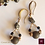 Thumbnail: Constantia - Set Earrings & Necklace. Pyrite & Agate
