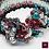 Thumbnail: Foret Noire - Single Item - Unique handbeaded bracelet
