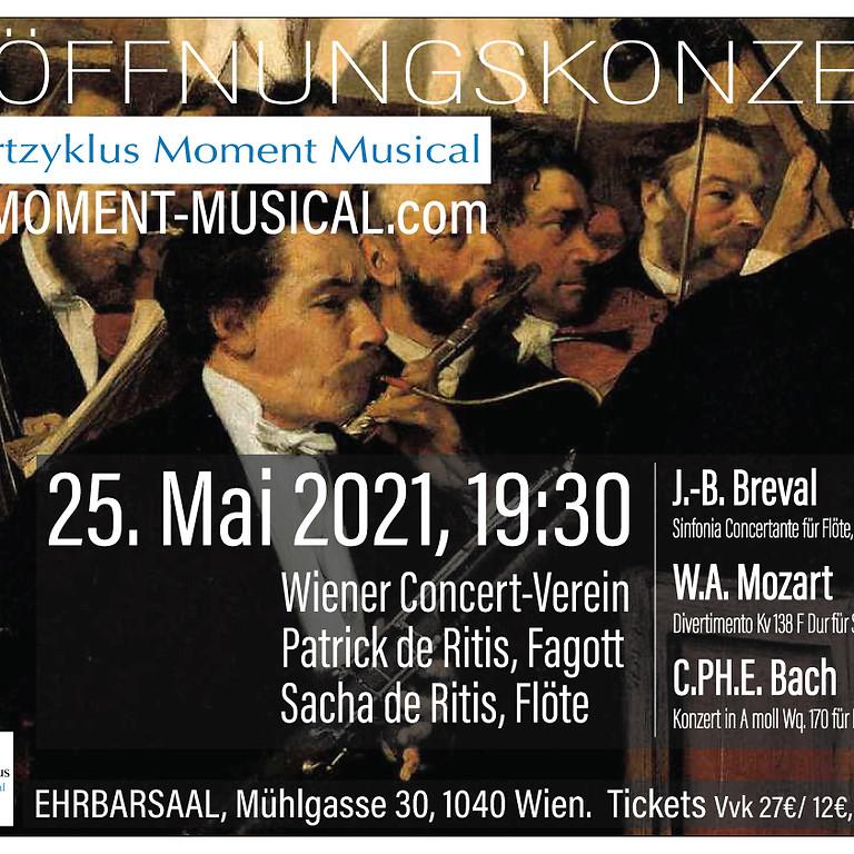 ERÖFFNUNGSKONZERT Konzertzyklus Moment Musical