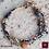 Thumbnail: Geraldine - Bracelet. Labradorit, Pyrit, Ruby, Volcanic Stones