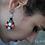 Thumbnail: La Bohème Single item. Unique handmade earrings.