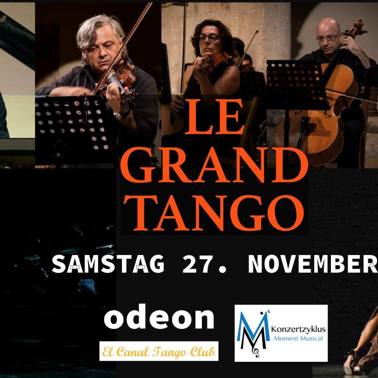 LE GRAND TANGO - Tango Concert & DanceShow +Milonga, Live Acts & Live Music