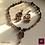 Thumbnail: Giboulée -  SET Necklace & Earrings. Turmaline, handmade beads with 24k Gold