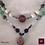 Thumbnail: Titania - SET 2 necklaces. Amethyste, Aventurine, Prenhite, Tree Agate