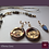 Thumbnail: Mona Lisa -  SET 2 Necklaces, Bracelet & 3 Earrings. Labradorite, Pearls, Hemati