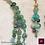 Thumbnail: Anthozoa. Set triple-necklace & earrings. Amazonite, Aventurine, Turquoise...