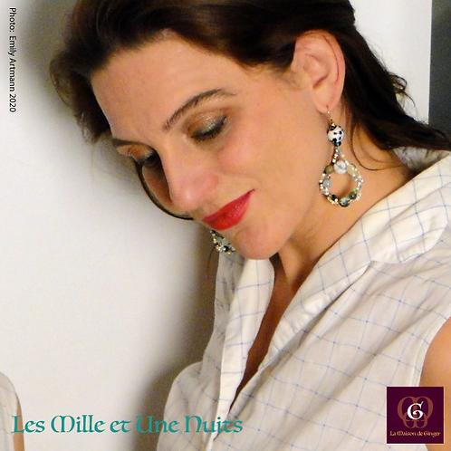 Les Mille et Une Nuits. Earrings