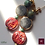 Thumbnail: Uffizi - Earrings. Prenhite, Beryl.
