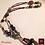 Thumbnail: Phoenicia - Necklace. Labradorite, Agate, Howlithe, Volcanic Stones Galvanized