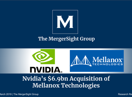 Nvidia's $6.9bn Acquisition of  Mellanox Technologies
