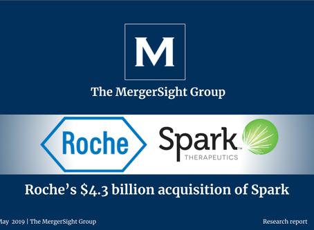 Roche's $4.3 billion acquisition of Spark