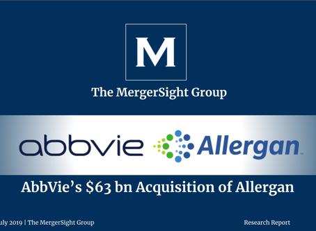 AbbVie's $63 billion Acquisition of Allergan