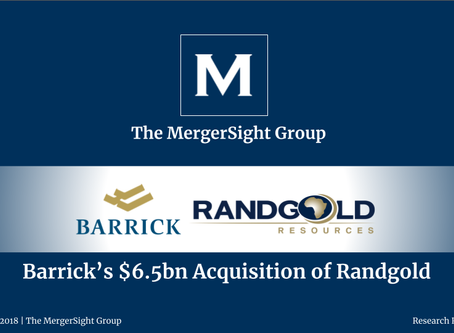 Barrick's $6.5bn Acquisition of Randgold
