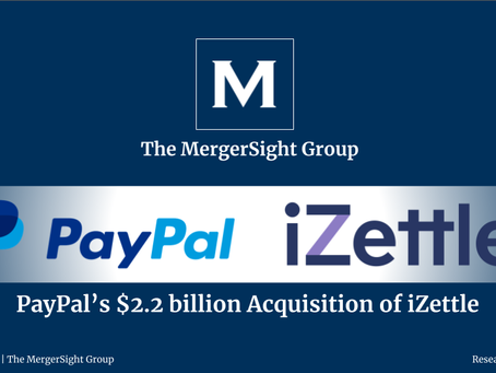 PayPal's $2.2 billion Acquisition of iZettle