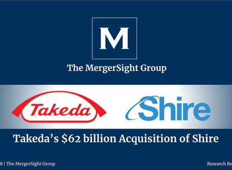 Takeda's $62 billion Acquisition of Shire