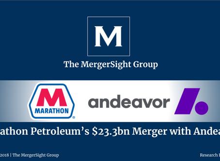 Marathon Petroleum's $23.3bn Merger with Andeavor