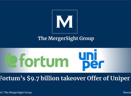 Fortum's $9.7 billion takeover Offer of Uniper