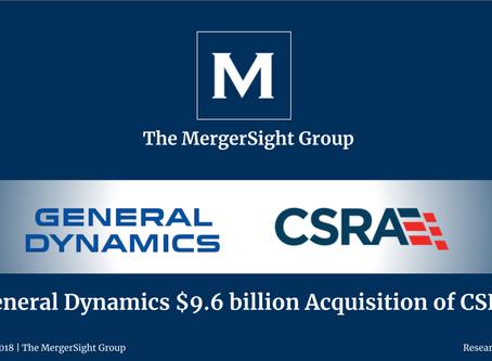 General Dynamics $9.6 billion Acquisition of CSRA