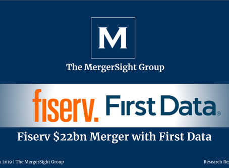 Fiserv $22bn Merger with First Data
