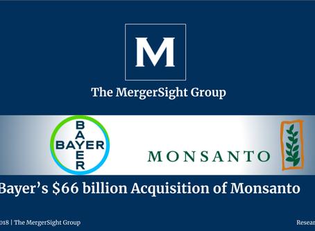 Bayer's $66 billion Acquisition of Monsanto