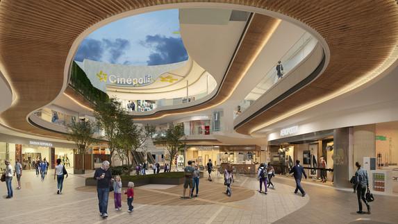 Centro comercial León Interior