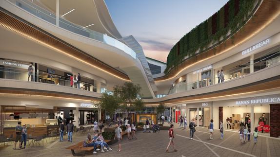 Pasillo Central Centro comercial