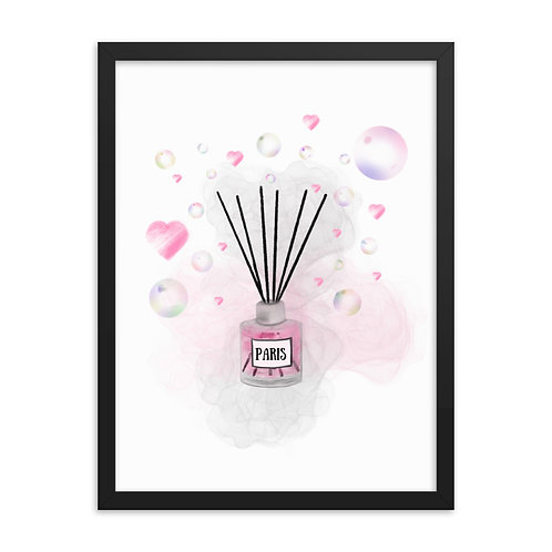 Paris Love & Bubbles Framed Print (From £39.99)