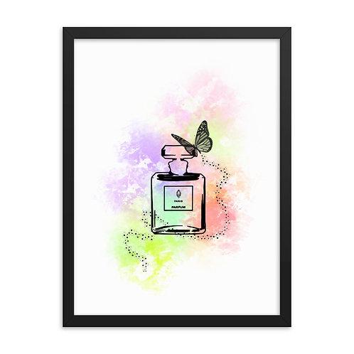 Perfume Art Framed Print (From £39.99)
