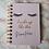 Thumbnail: Personalised Libreta A6 Notebook