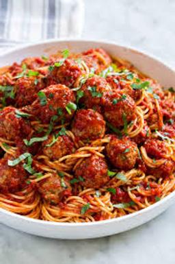 Italian Mama Spaghetti & Meat Balls