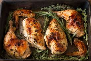 Whole Roasted Chicken - 8 pc