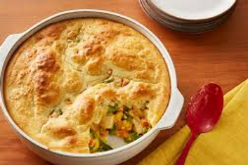 Chicken Pot Pie - Deep Dish