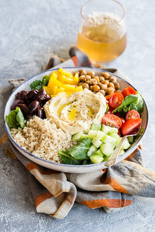 Mediterranean Budda Bowl - vegan