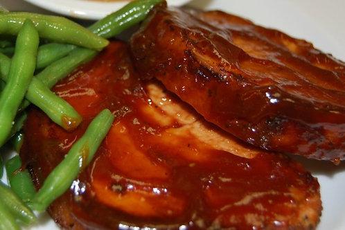 BBQ Pork Loin Dinner