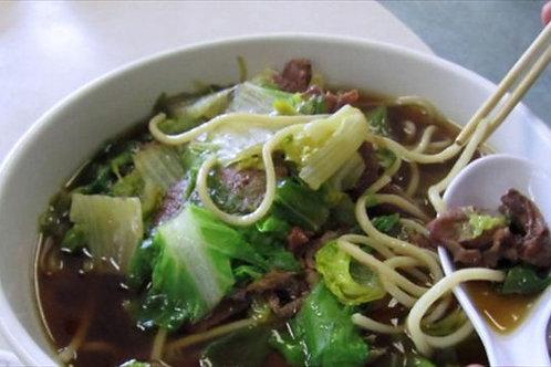 Vegetable Noodle soup - vegan