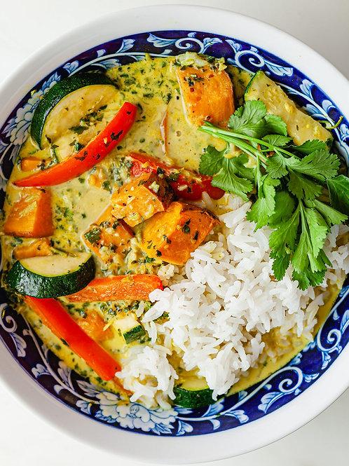 Sweet Potato Coconut Curry - vegan