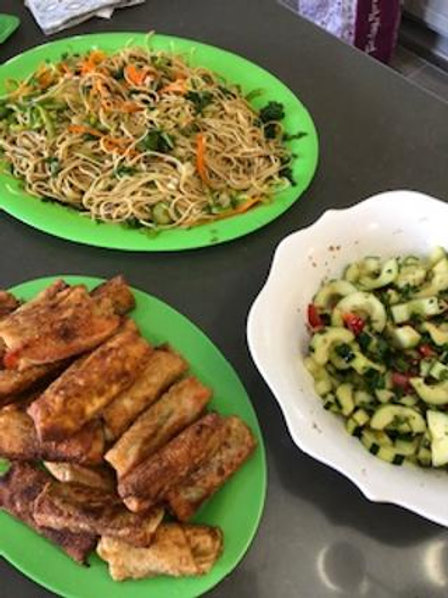 October - Asian Cooking Class