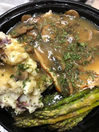 Turkey and Mushroom Gravy